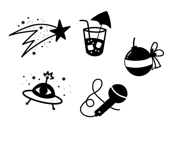 Illustrazioni interne a Trovami un modo semplice per uscirne